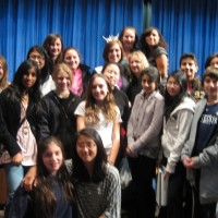 Miss New York State Speaks at Jericho Middle School