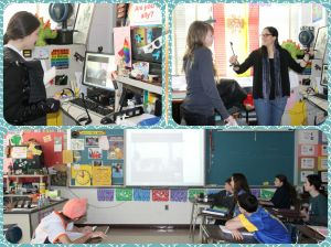 Google Hangout with school in El Salvador